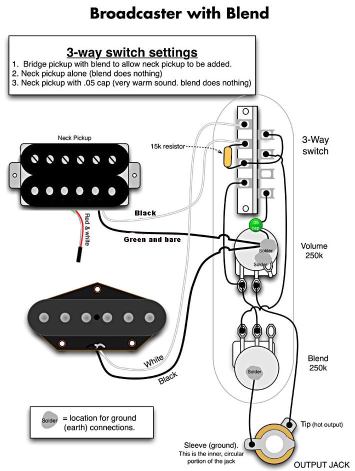 telecaster wiring schematics wiring diagram telecaster humbucker
