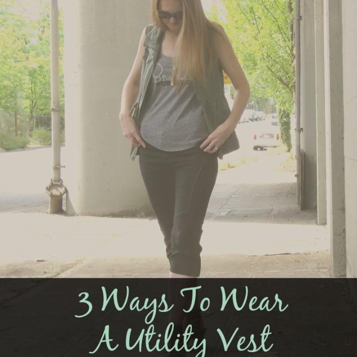3 Ways To Wear A Utility Vest-