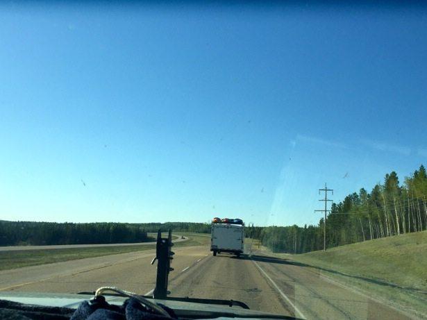 road to grande prairie