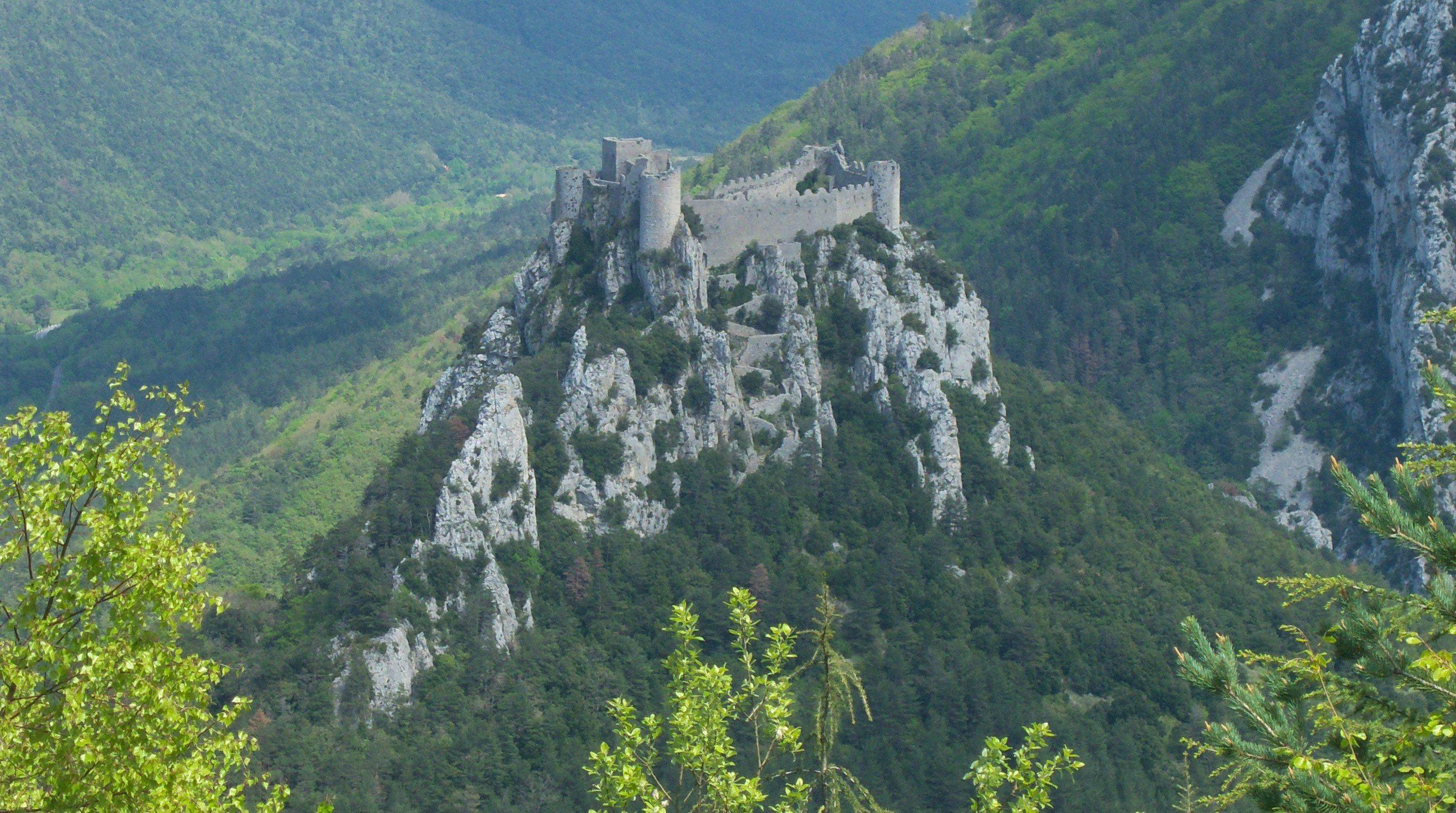 Chambre D Hote Quillan Cathar Castles Chateau View Quillan