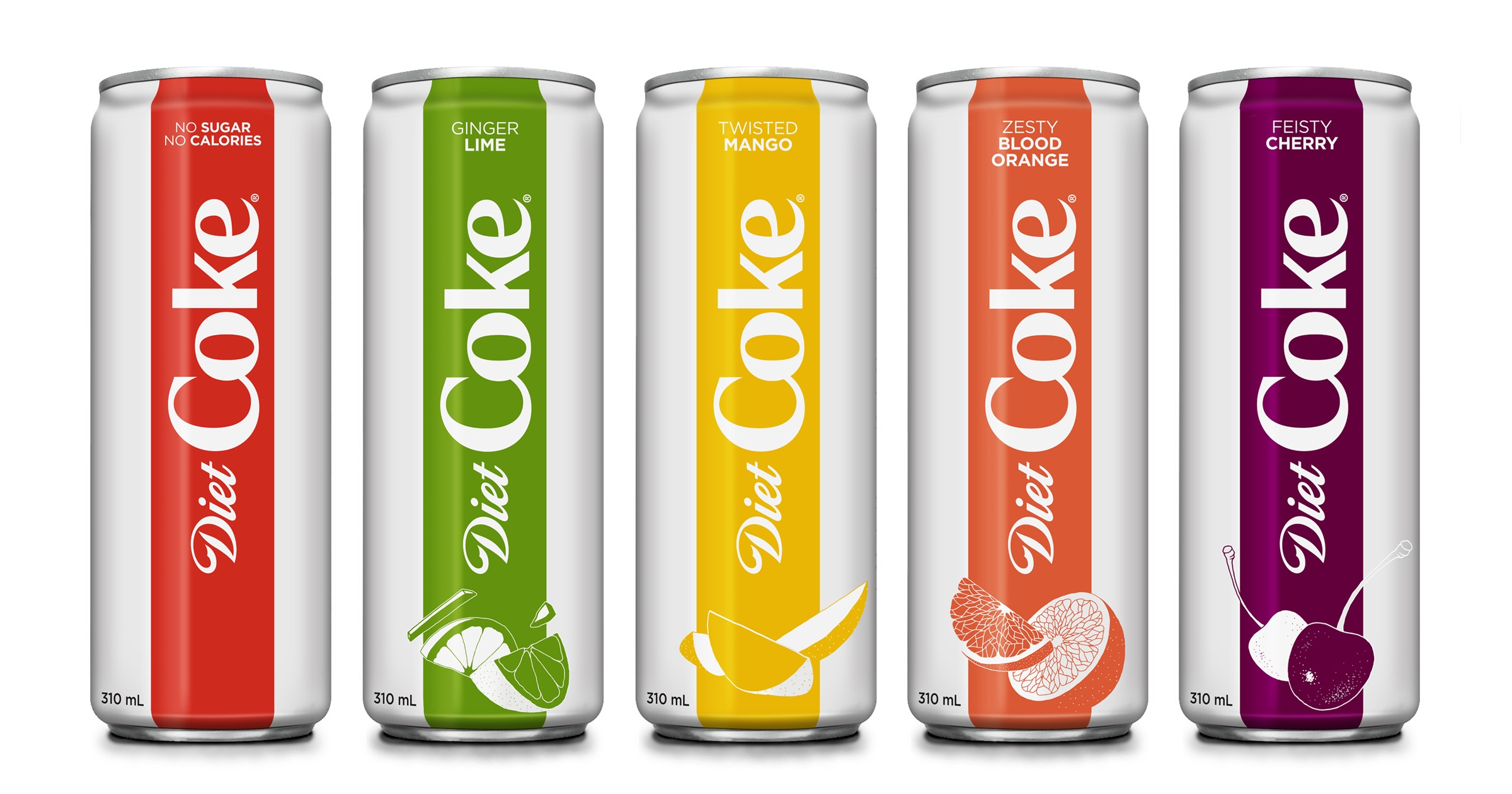 Diet Coke 4 New Diet Coke Flavours Zesty Blood Orange Are Coming To