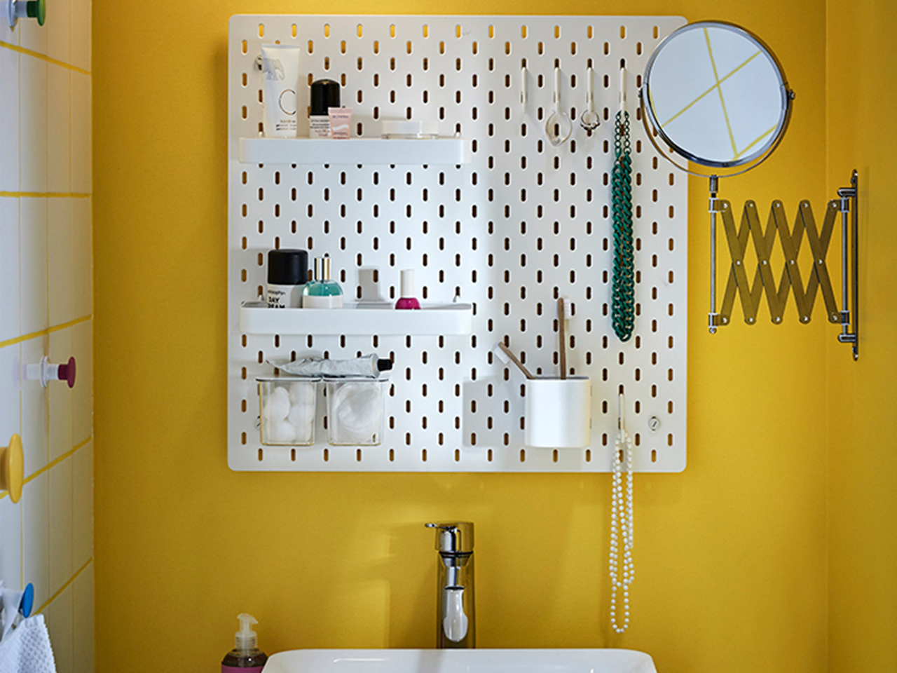 Peg Board Canada Ikea Skadis This Product Will Instantly Organize Any Room