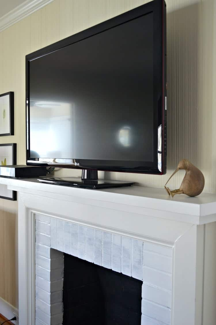 Diy Small Entertainment Center Diy Fireplace Mantel Chatfield Court