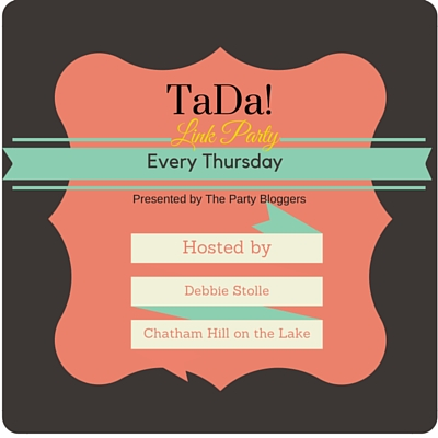 TaDa! Thursday Link Party www.chathamhillonthelake.com