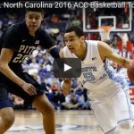 UNC vs Pitt ACC Tournamant basketball game
