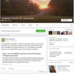 Chatham Community Facebook Page