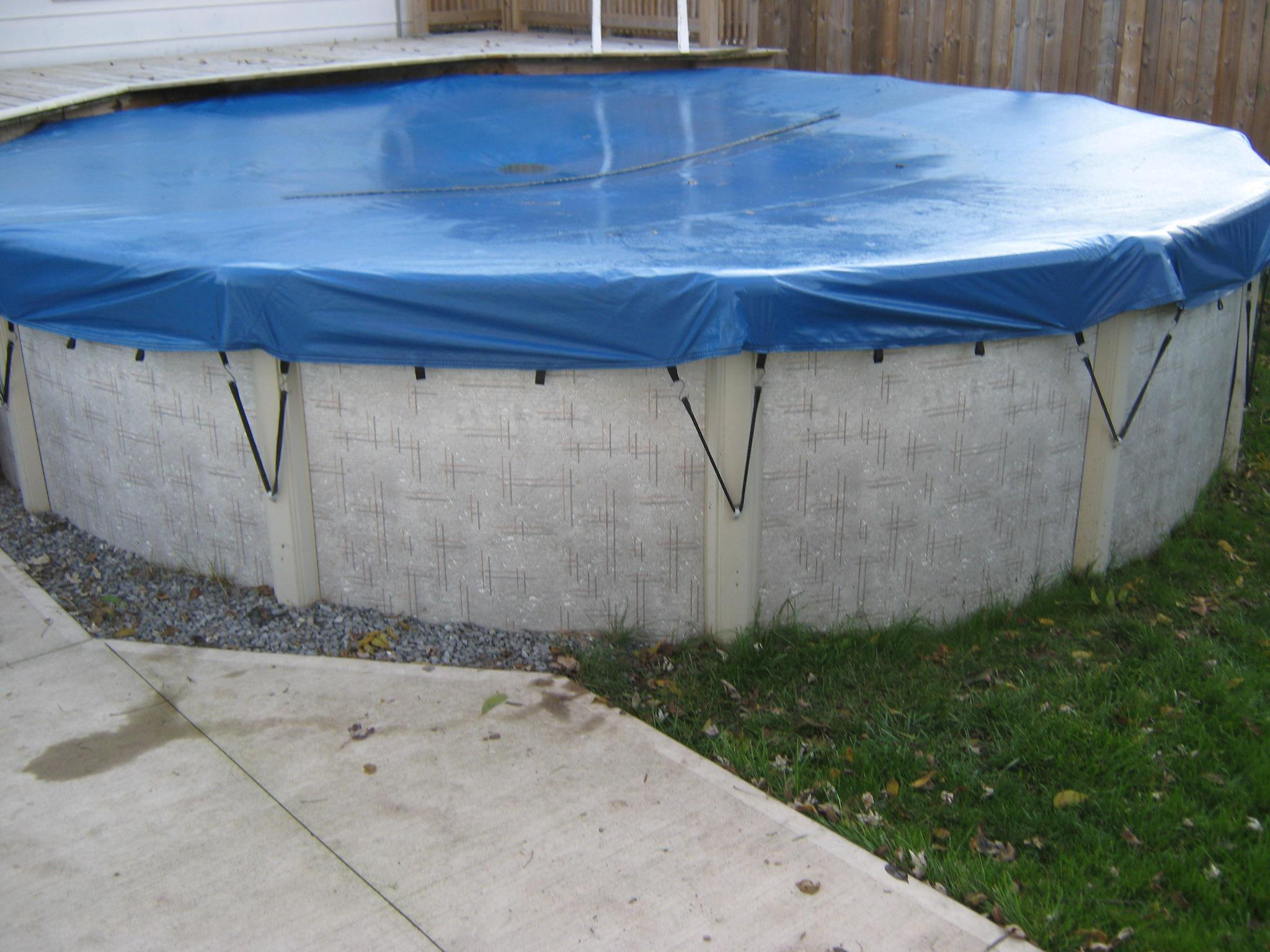 Above Ground Pool Winter Cover Eliminator Winter Round Cover