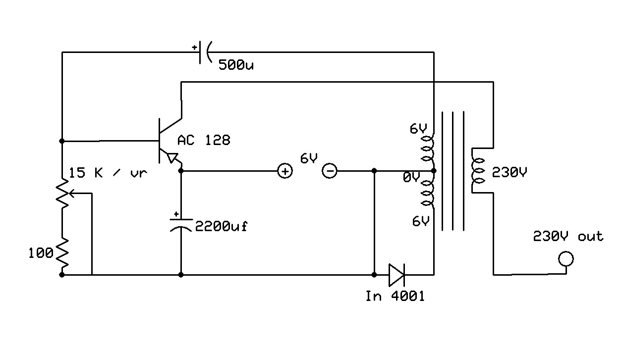 simple dc to ac inverter circuit