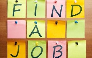 find-a-job-post-its