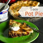 Taco Pot Pie with Beef
