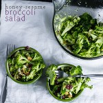 Honey-Sesame Broccoli Salad