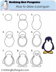 Arts visuels dessiner - Apprendre a dessiner un pingouin ...