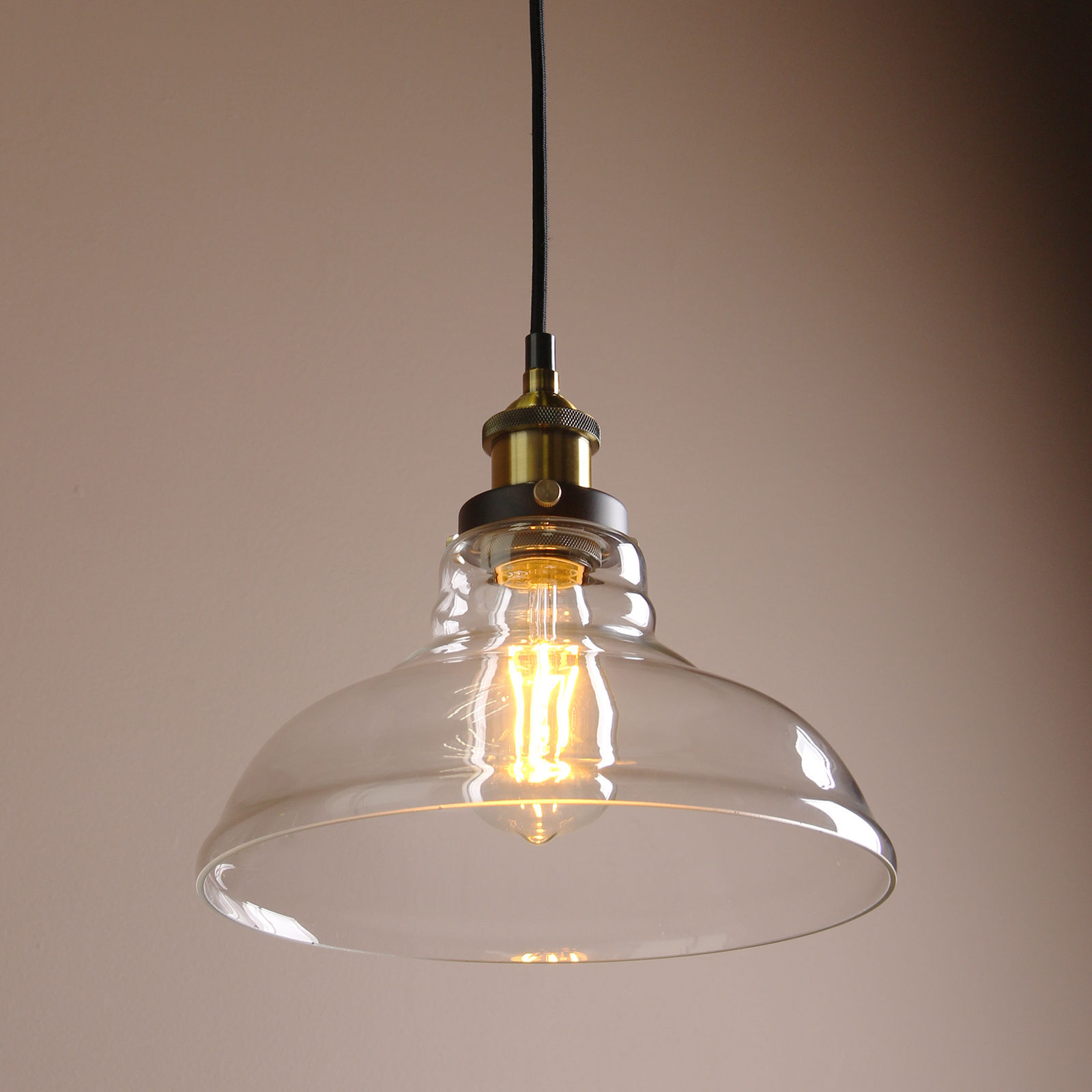 Cheap Glass Pendant Lights Permo Pendant Light Chandelier Vintage Industrial Clear