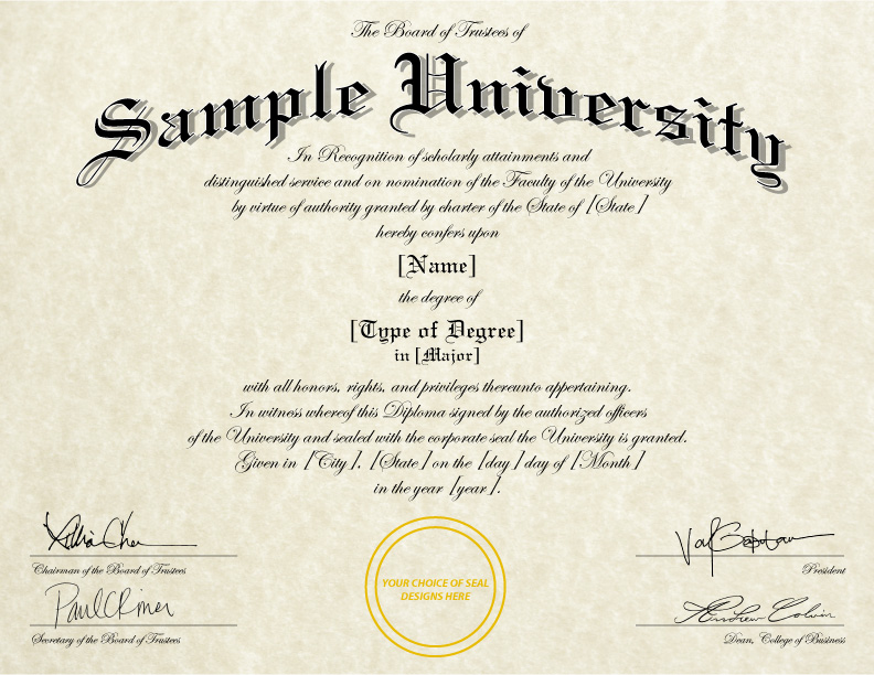 college diploma template - Towerssconstruction