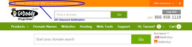 Godaddy SSL Promo Code