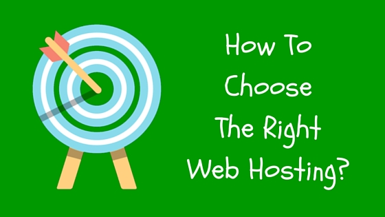 How To Choose Right Web Hosting