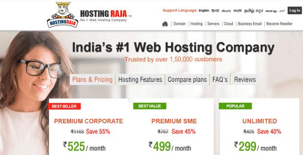Hostingraja web hosting