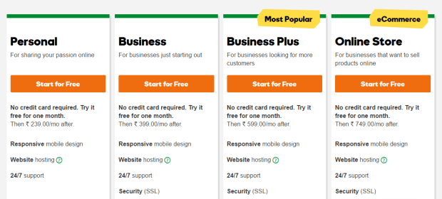 GoDaddy Website Builder Free Trial Offer