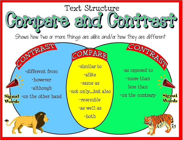 How to Write Compare and Contrast Essay Blog CheapEssaynet