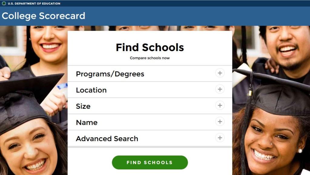 cheapscholarorg College Comparison Database