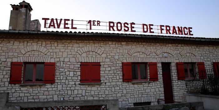 Tavel 1er Rosé de France