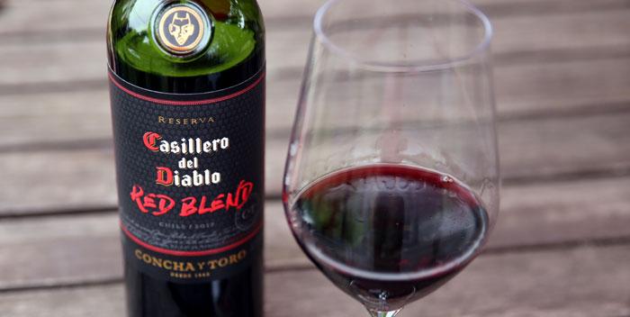 Casillero Del Diablo Red Blend Boldness In A Bottle