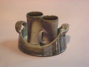 Jeremy + Chuck Stump Pottery coffe pair