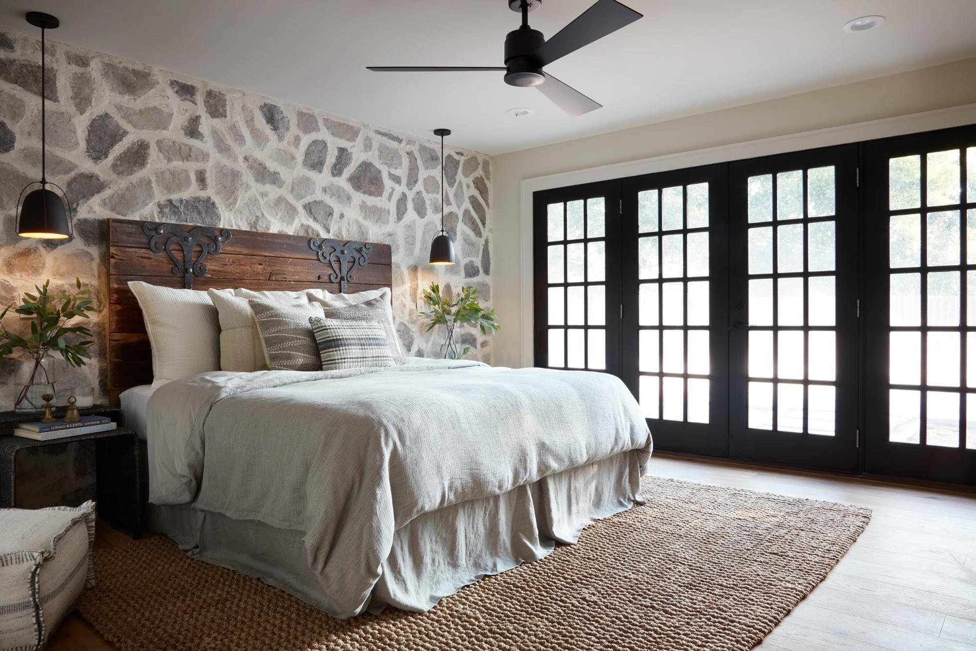 Headboards In Front Of Windows Joanna Gaines Best Advice For Designing A Relaxing Master Bedroom