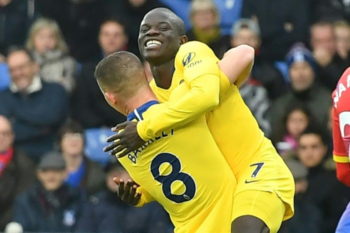 Kante Strikes To Seal Palace Coup For Chelsea