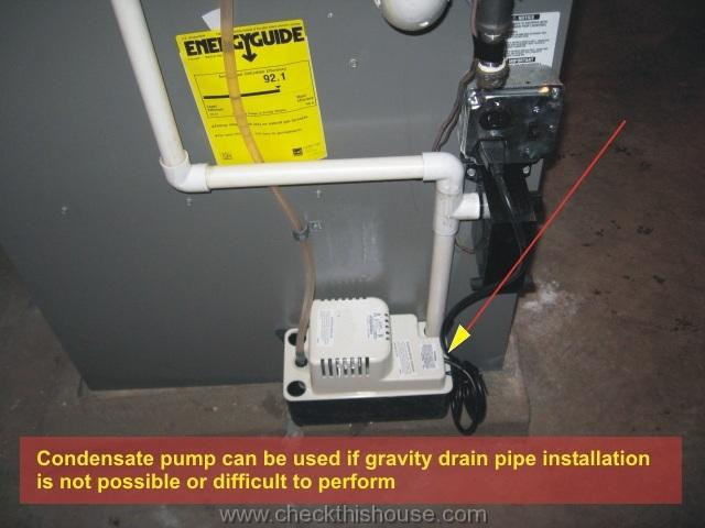 Attic Air Conditioner Drip Pan Installation Hvac Coil