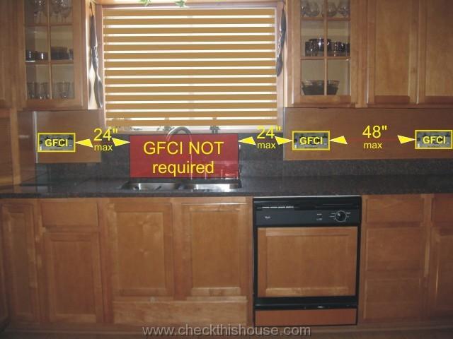 Gfci Outlet Kitchen Wiring Schematic Diagram