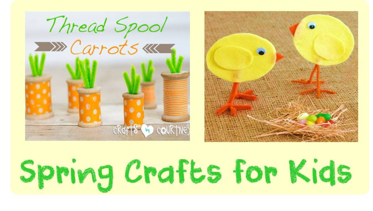 Spring Crafts and Art for Kids