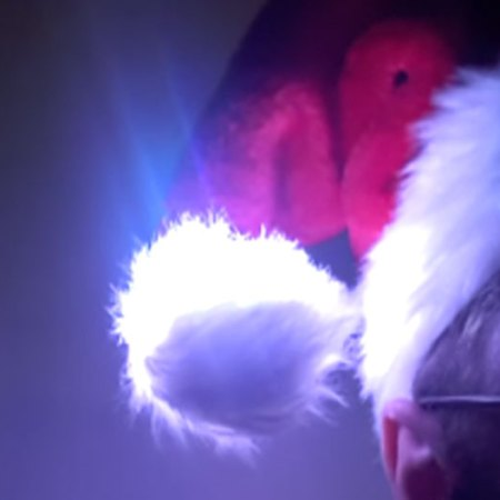 CheerLights Santa Hat