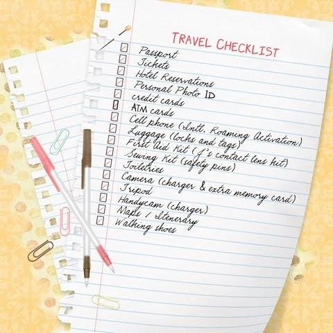 Complete Cheer Competition Checklist! - Cheer Makeup Magazine - Travel Checklist