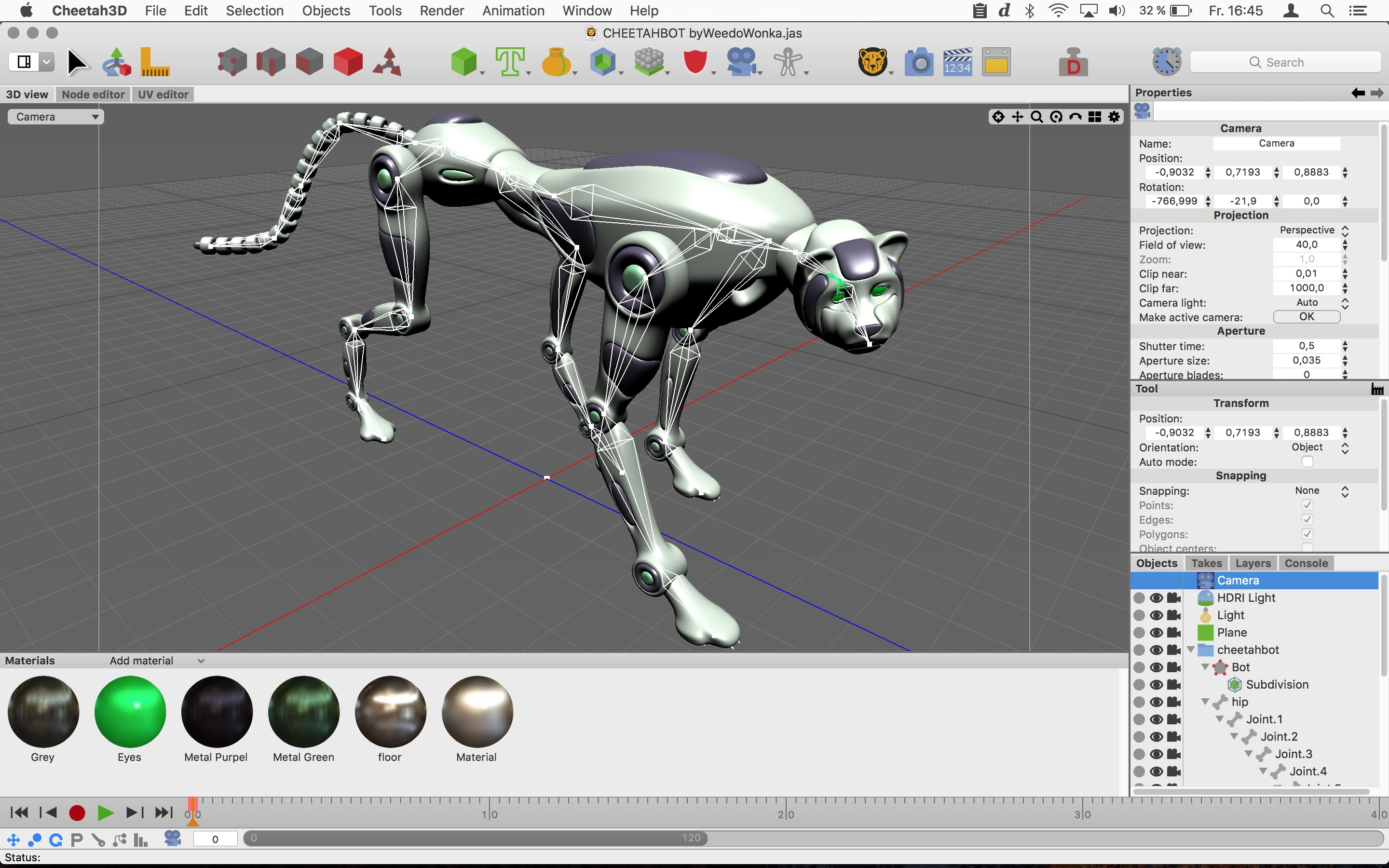 3d Programma Cheetah3d 3d Software For Mac