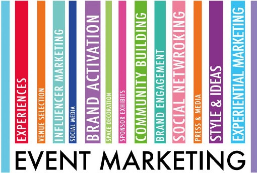 event marketing, planning, preporation and exicution make the event