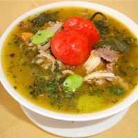 Chairo receta de la región del norte de Chile