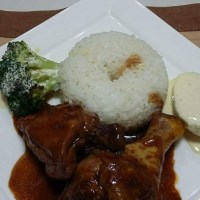 pollo con salsa char siu