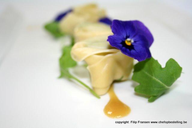 viooltjes pasta