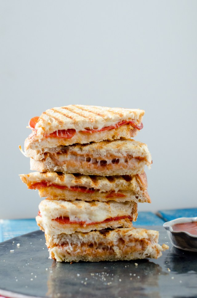 Pizza Panini recipe from ChefSarahElizabeth.com