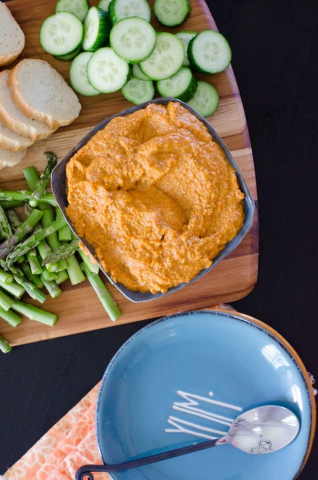 Salsa Romesco recipe from ChefSarahElizabeth.com