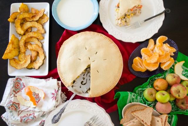 My Father's Dragon dinner menu from ChefSarahElizabeth.com