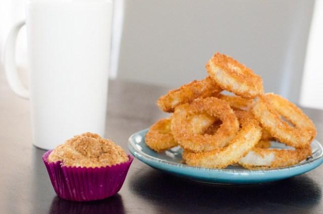 Coffee Cake Muffins recipe from ChefSarahElizabeth.com