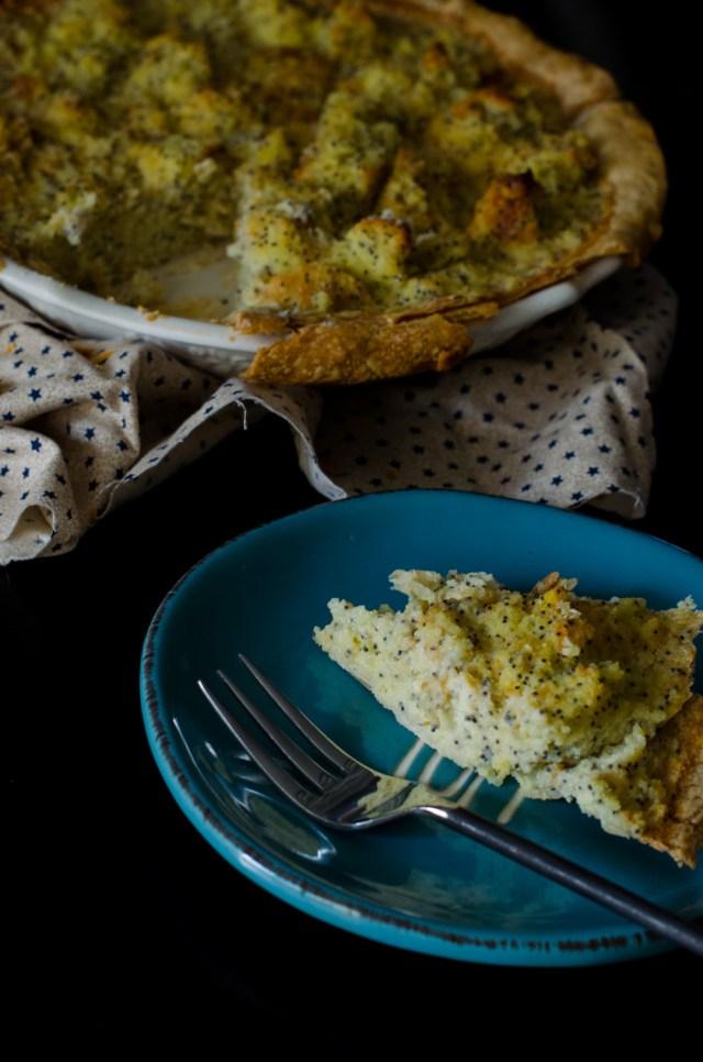 Muffin Bottom Pie recipe from ChefSarahElizabeth.com - Gilmore Girls