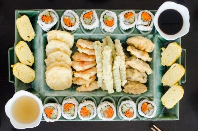 The Peace Tree of Hiroshima - family dinner menu - ChefSarahElizabeth.com