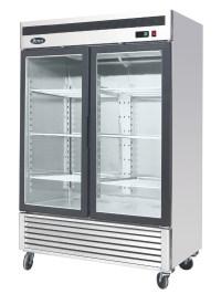 Atosa MCF8703 Bottom Mount Two Section Glass Door Freezer ...