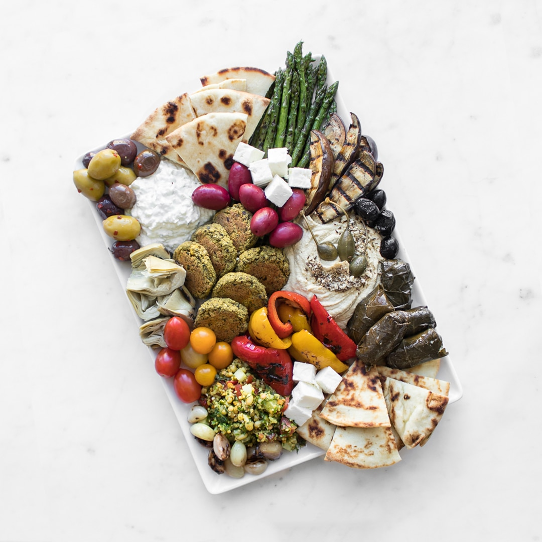 Mediterrane Küche An Bord How To Craft A Mezze Board