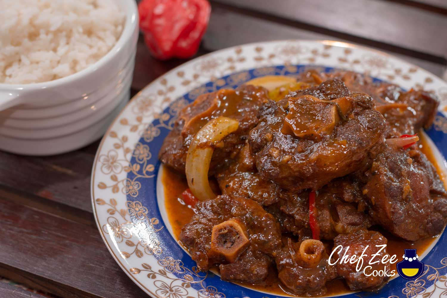Cocinar Rabo Oxtail Stew Rabo Encendido Made To Order Chef Zee Cooks