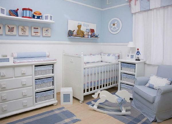 Sweet as a Candy La cameretta del principino Baby bedroom - peindre un lit en bois