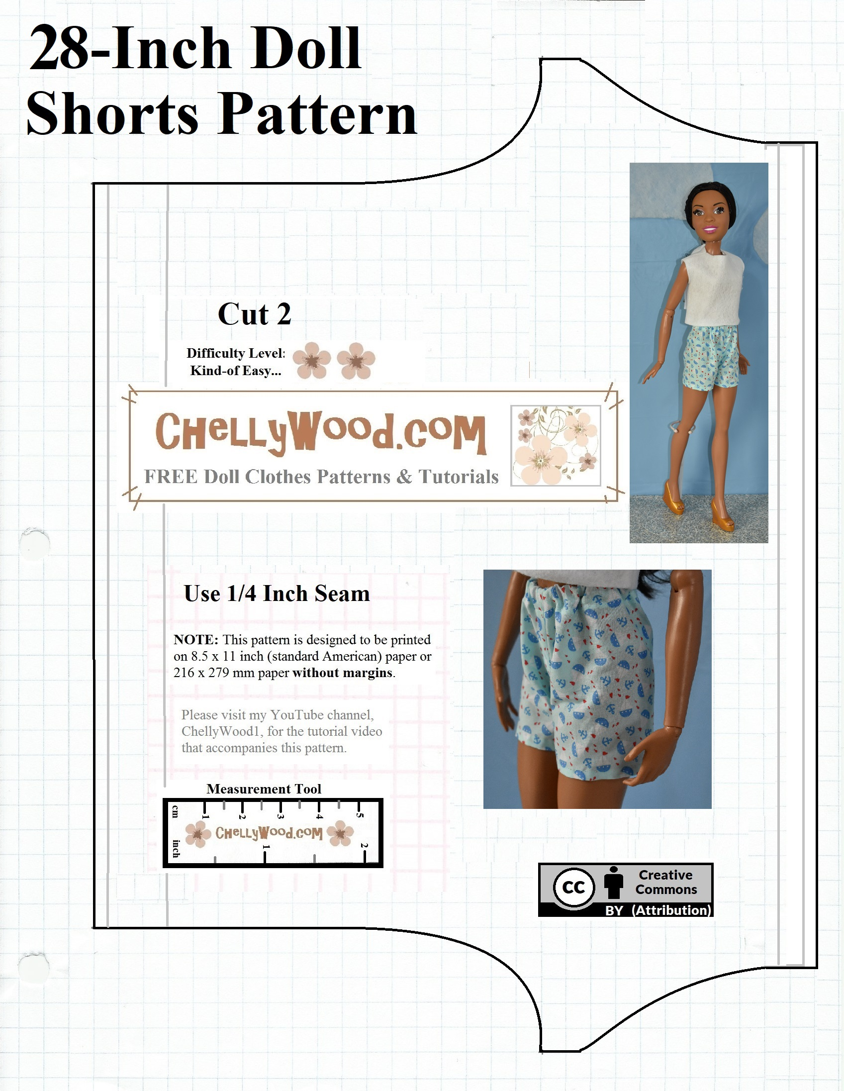 Ich Cm Sew Summer Clothes For 18 Inch 46 Cm Dolls W Free Patterns And